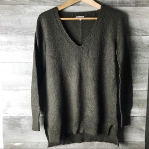 Claudie Pierlot mohair blend long sleeve sweater